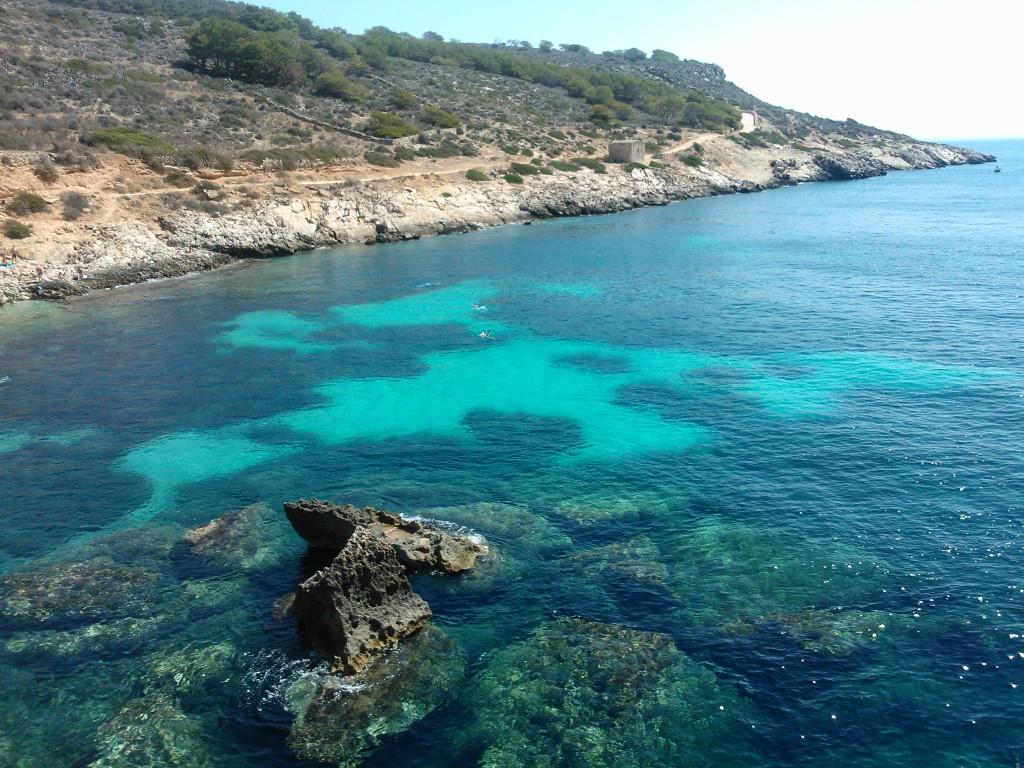 Trapani Levanzo sea transparent water