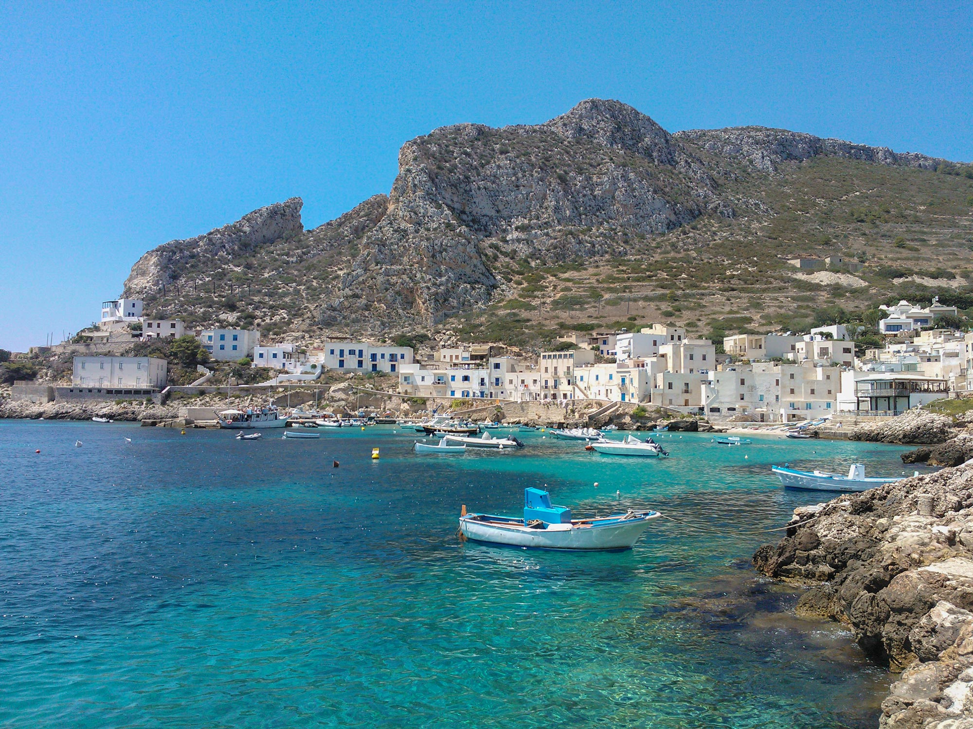 Levanzo village