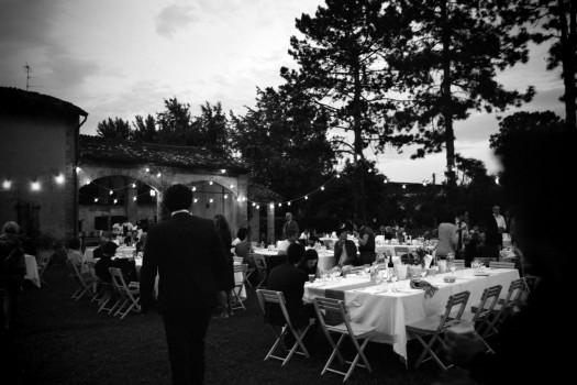 Italy Piacenza Wedding lights farm