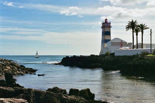 Lisbon cascais lighthouse