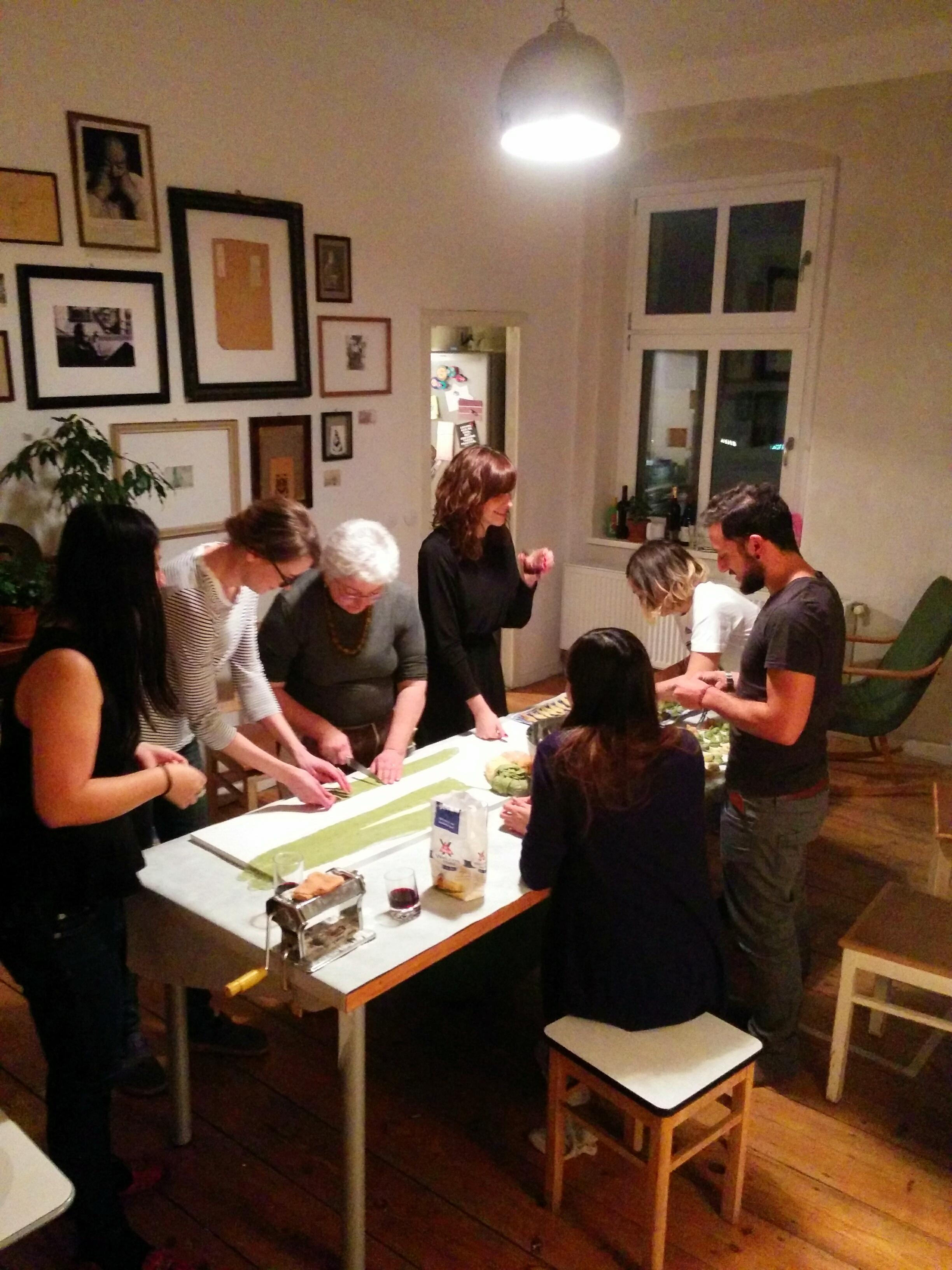 Berlin Tortelli workshop preparation
