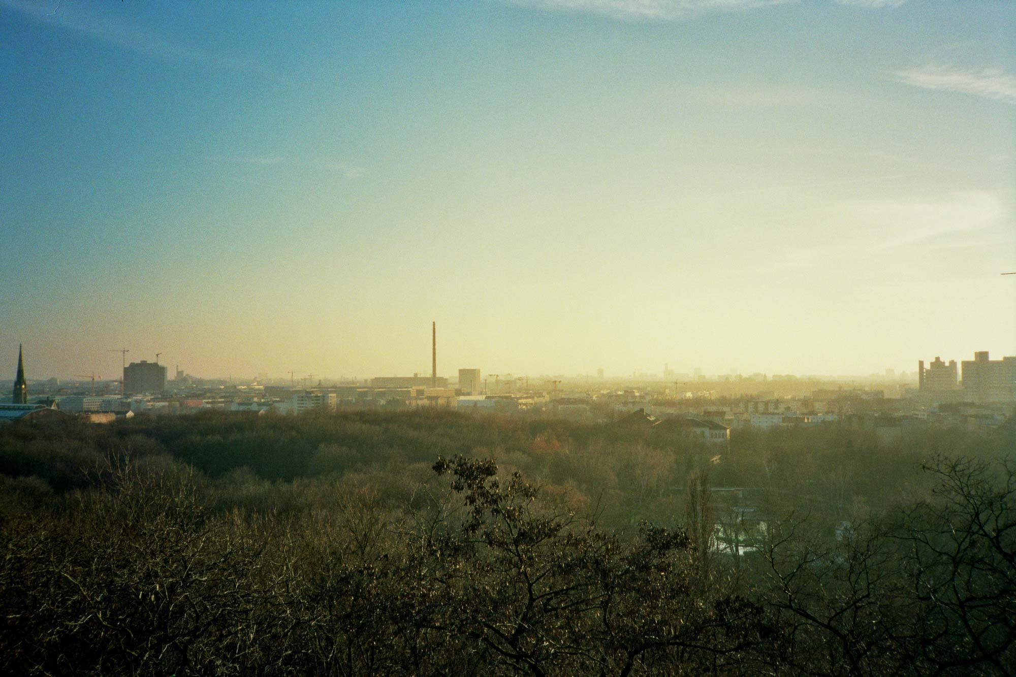 Berlin Hubholdthain park panorama