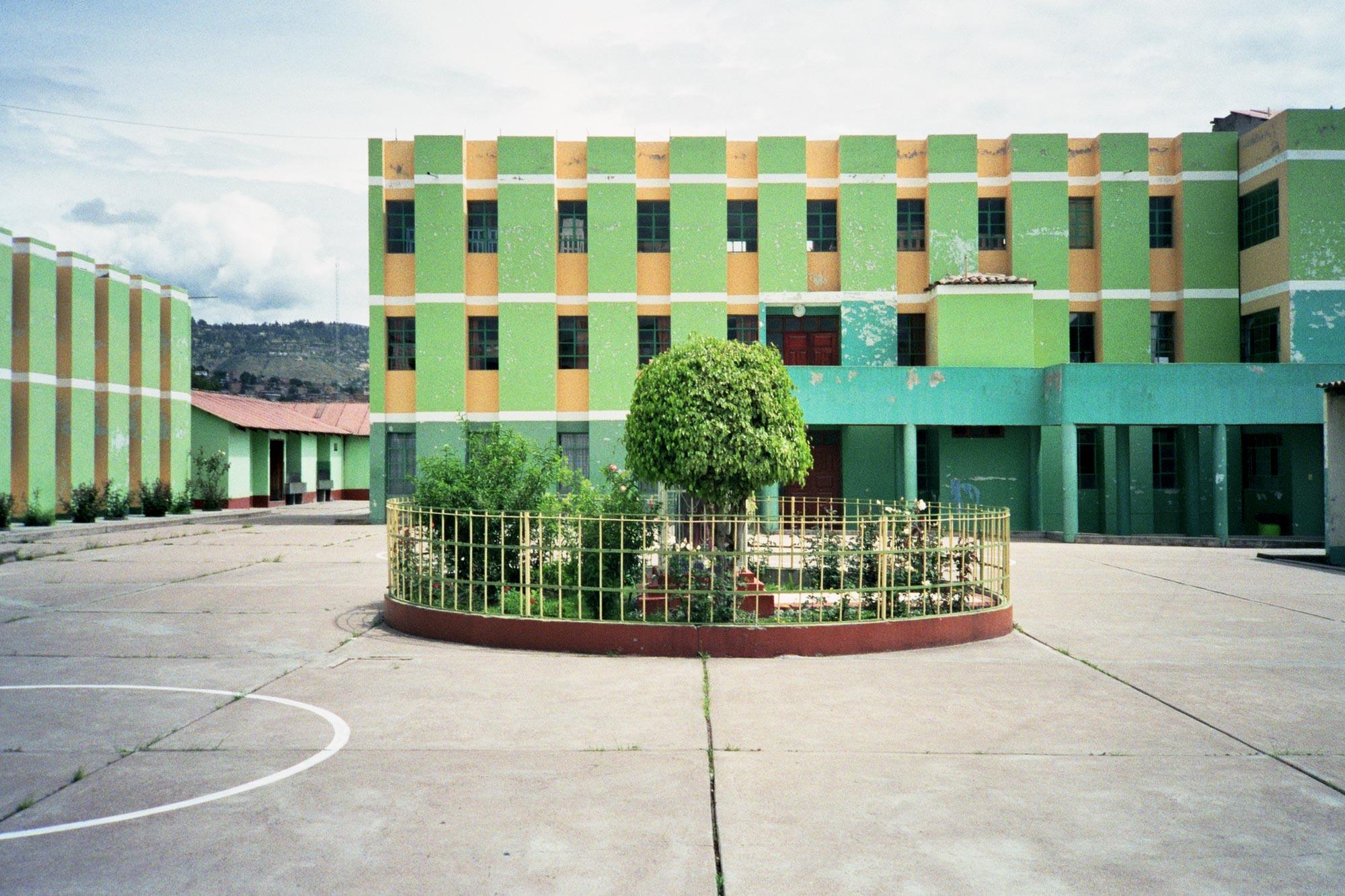 Peru Ayacucho Puericultorio central square