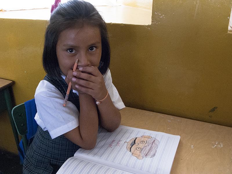 Peru Ayacucho Puericultorio kids school girl smile