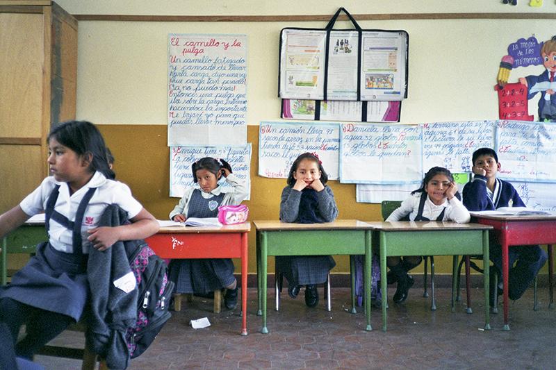 Peru Ayacucho Puericultorio school lesson