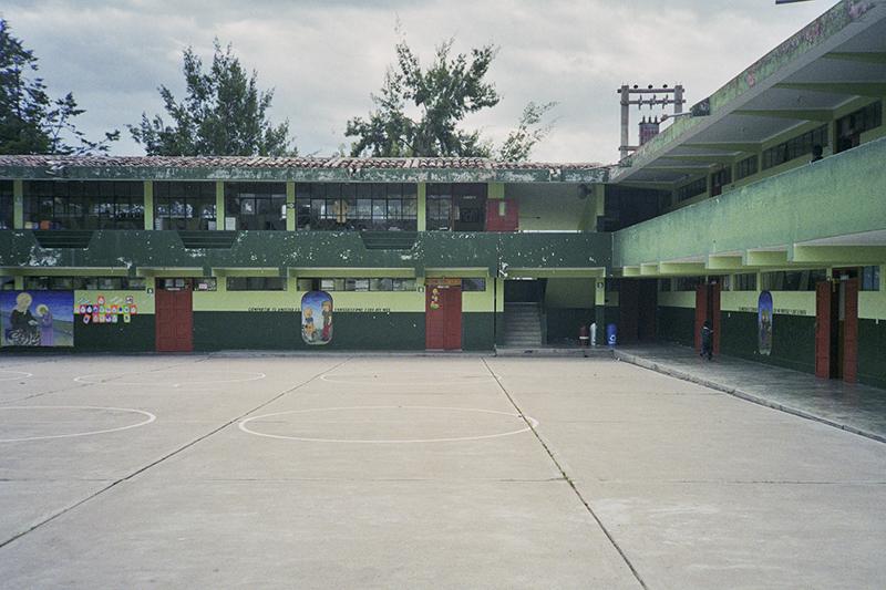 Peru Ayacucho Puericultorio school yard