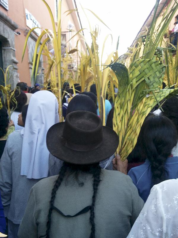 Peru Ayacucho Seman santa procession