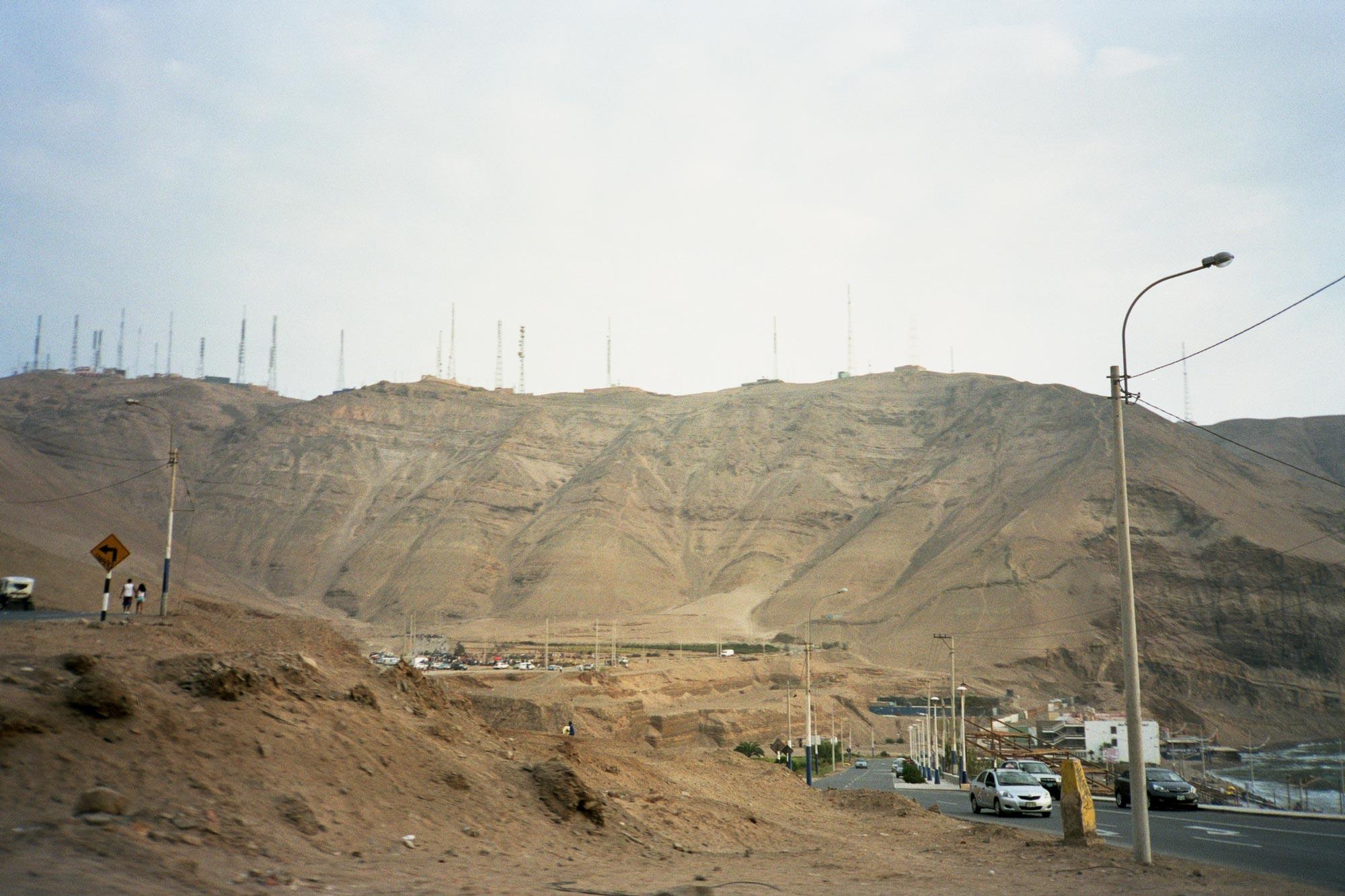 Peru lima Churrillos antennas
