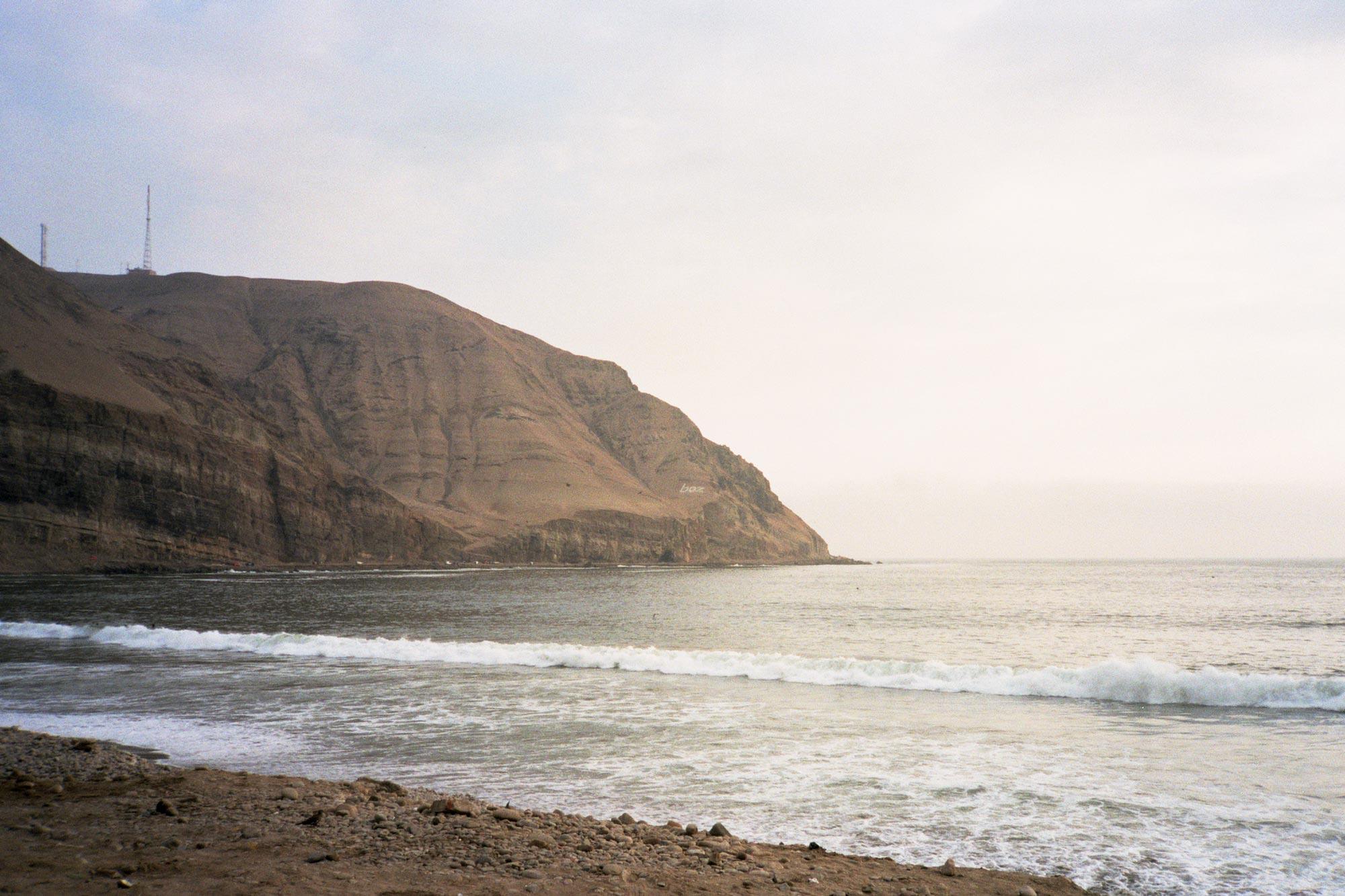 Peru lima Churrillos coast