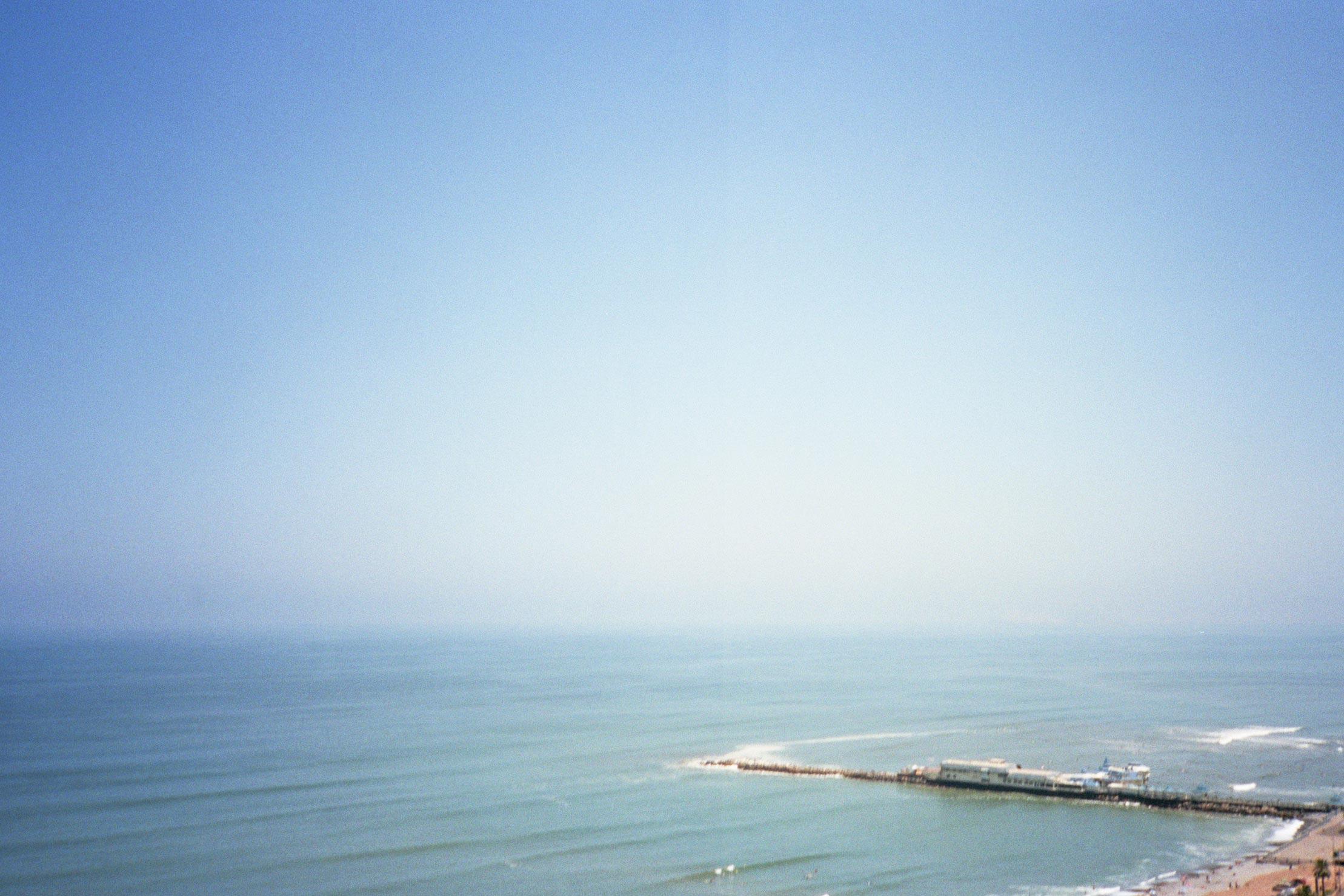 Peru Lima Costa Verde ocean