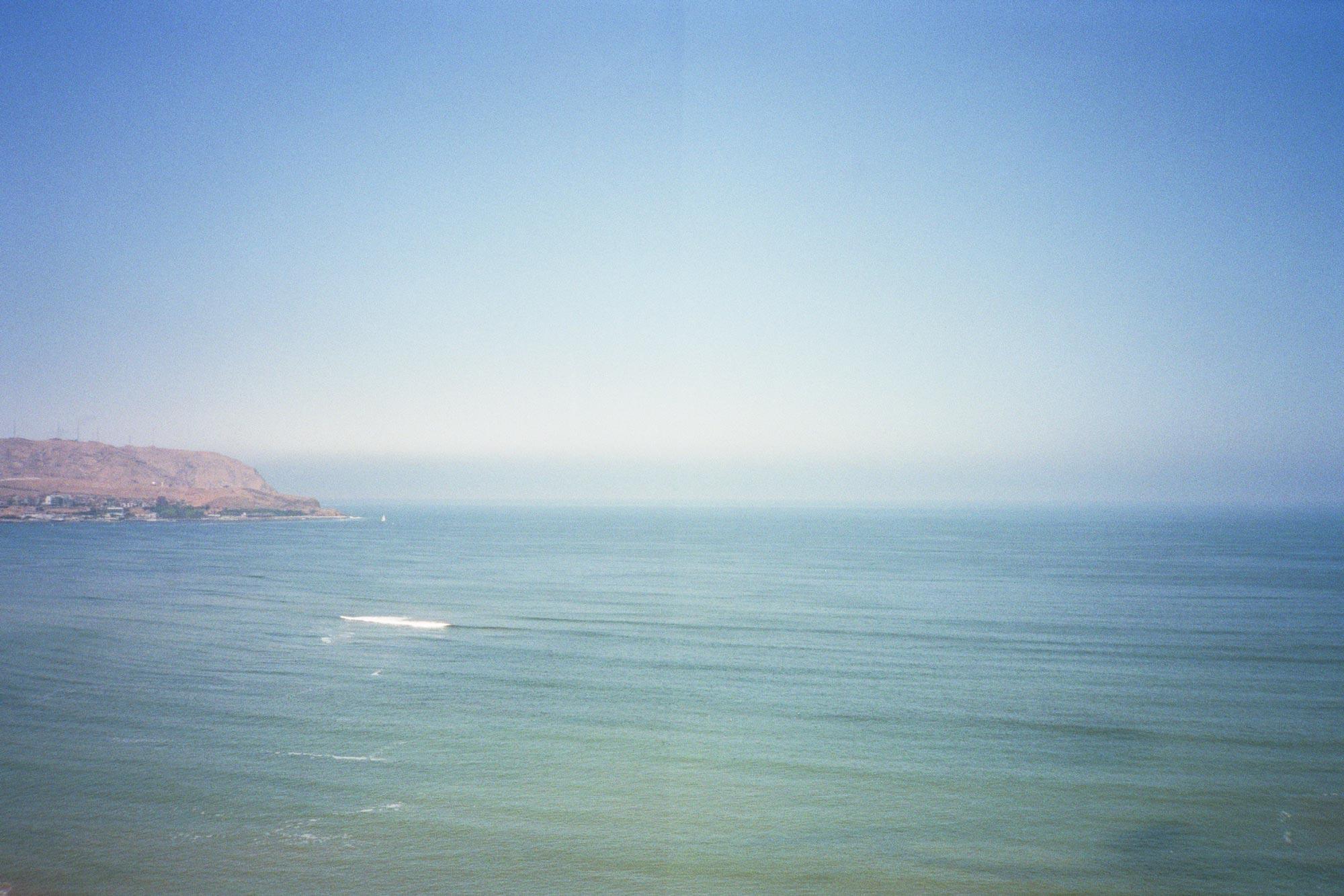 Peru Lima Ocean Larcomar wave