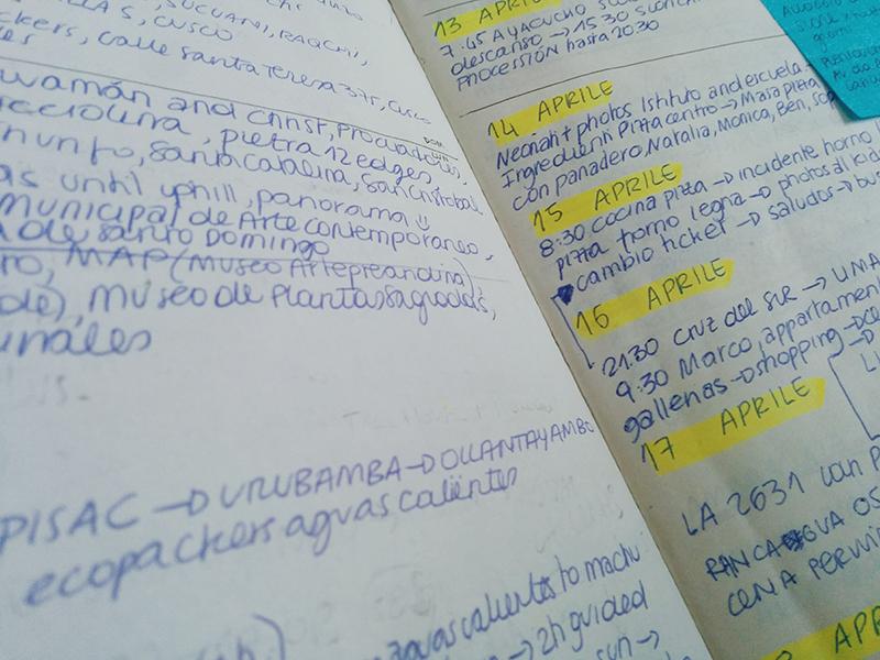 Peru list trip notes