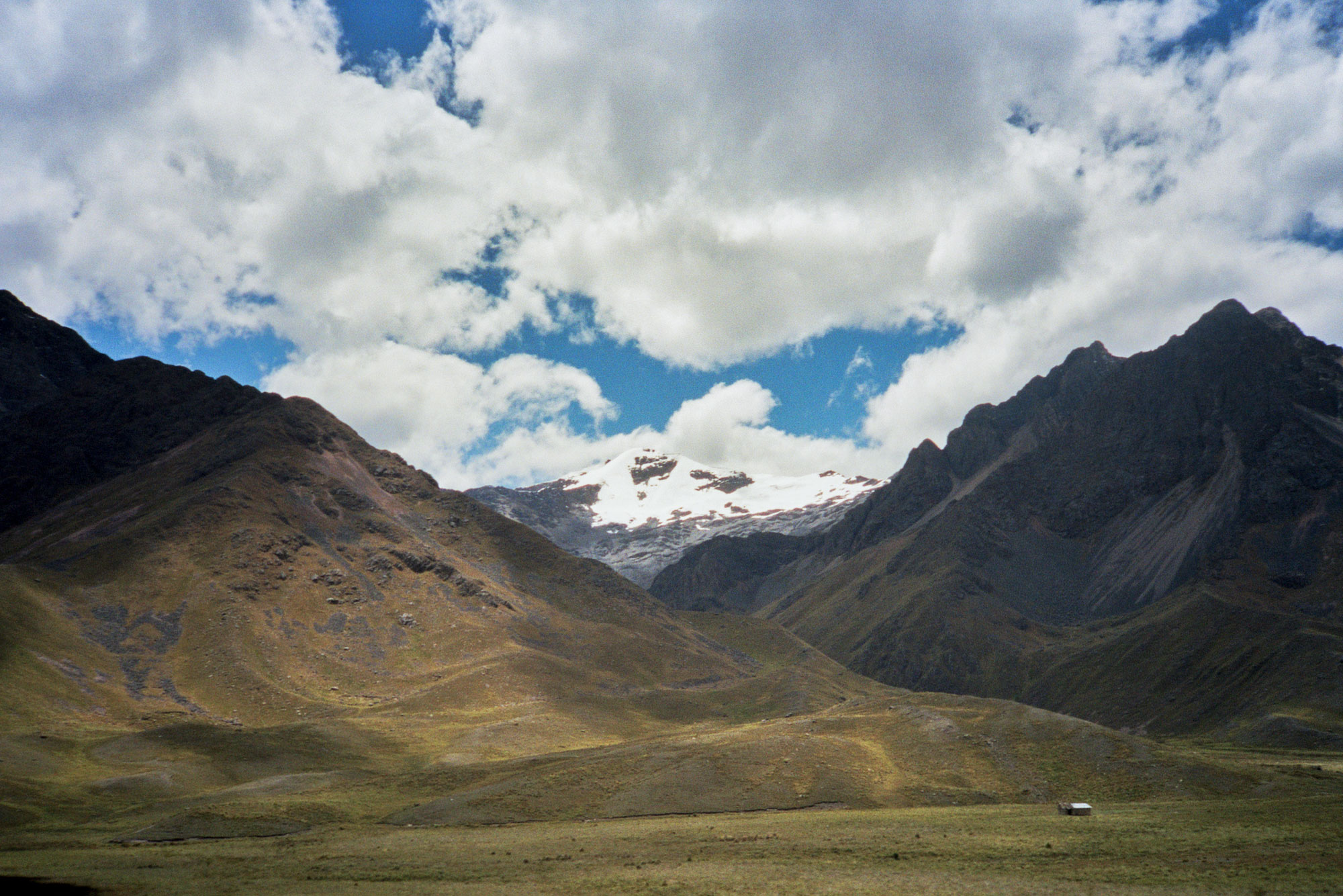 Peru Puno Cusco Pukara panorama