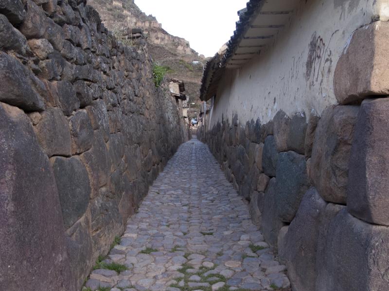 Peru Sacred valley Ollantaytambo inca living city