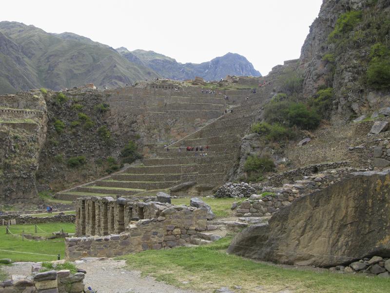 Peru Sacred Valley Ollantaytambo ruins