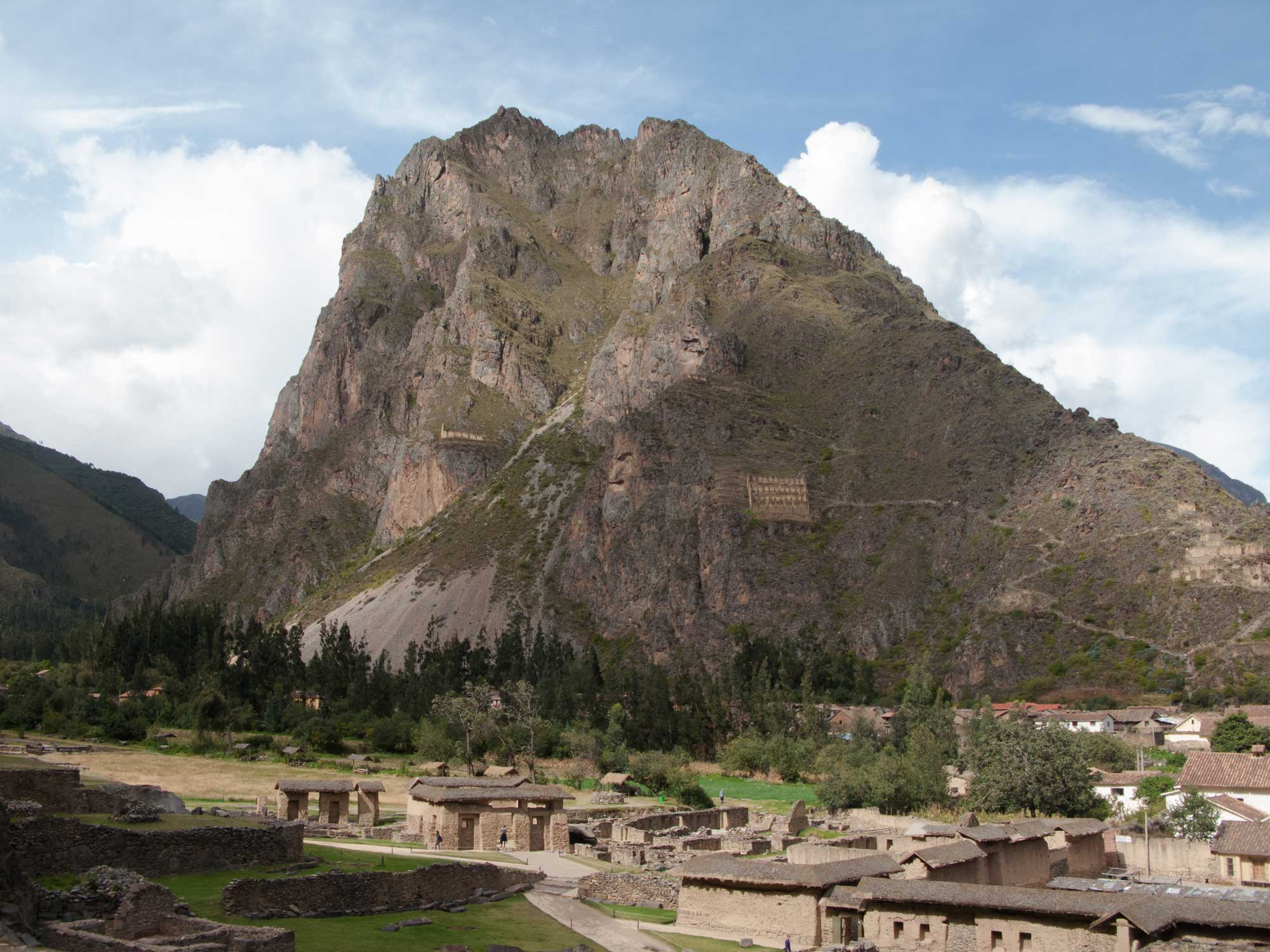 Peru Sacred Valley Ollantaytambo Wiracocha