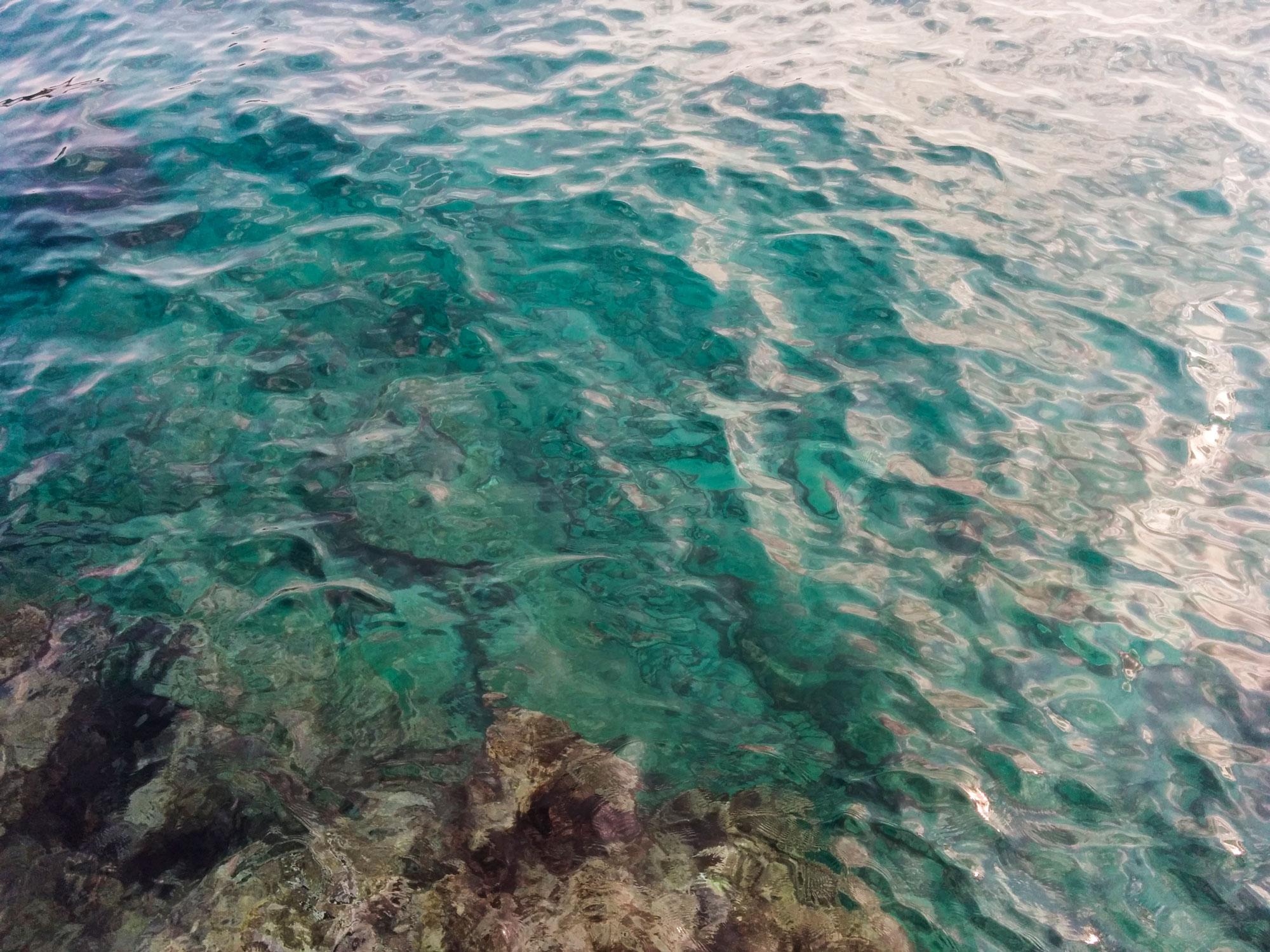 Turkey kas sea water