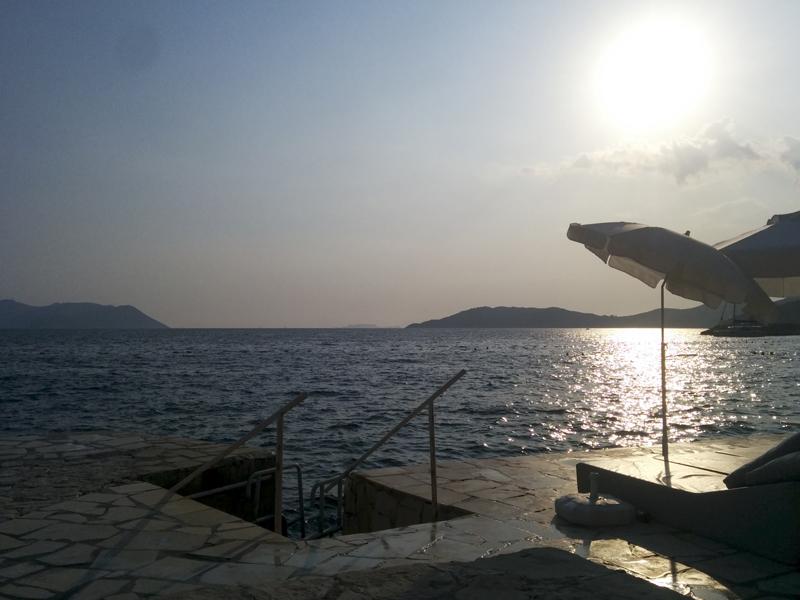 Turkey kas seaside bar