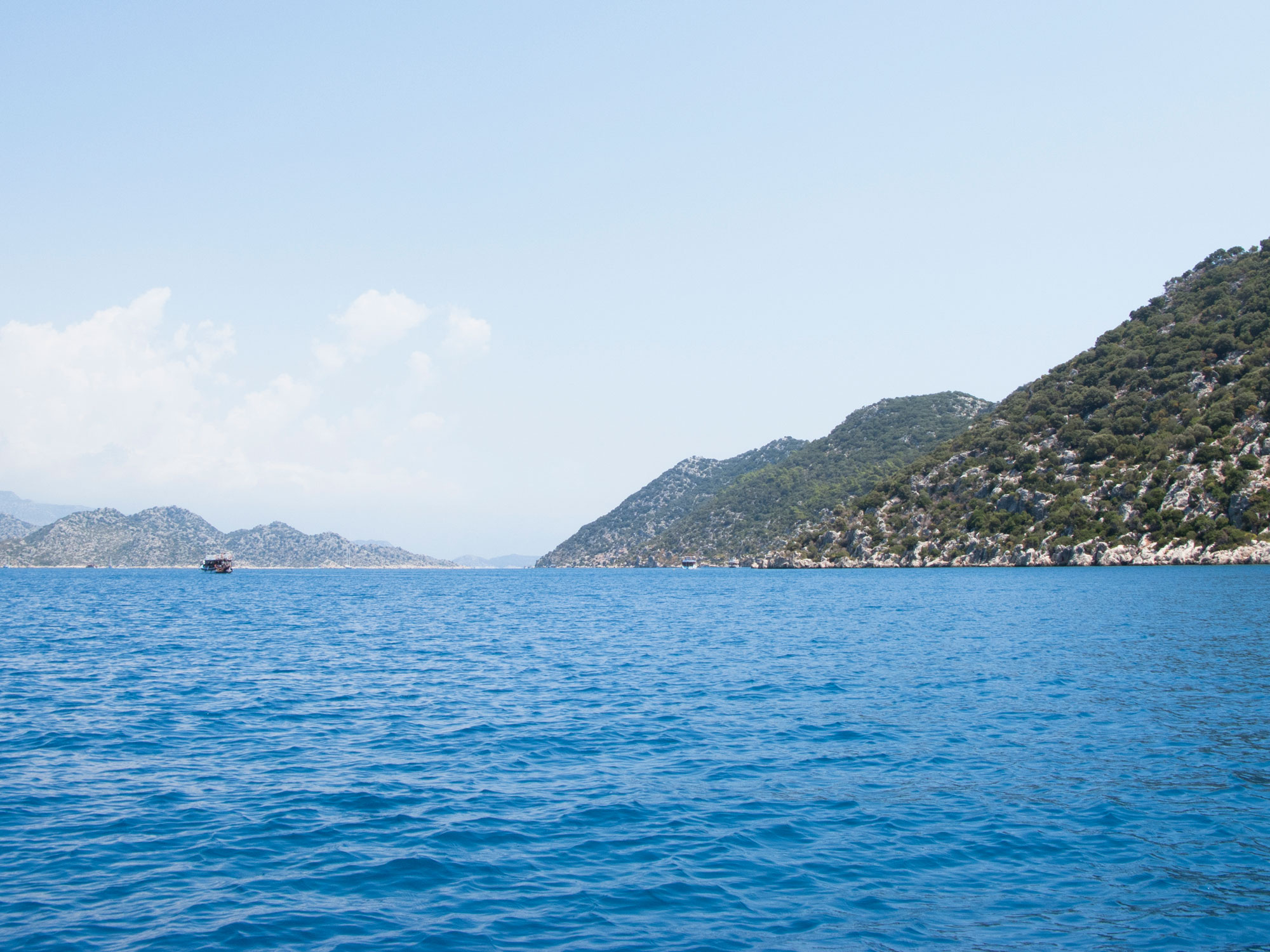 Turkey Ucagiz Kekova island sea