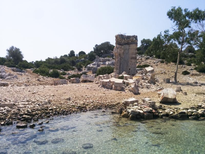 Turkey Ucagiz Kekova island