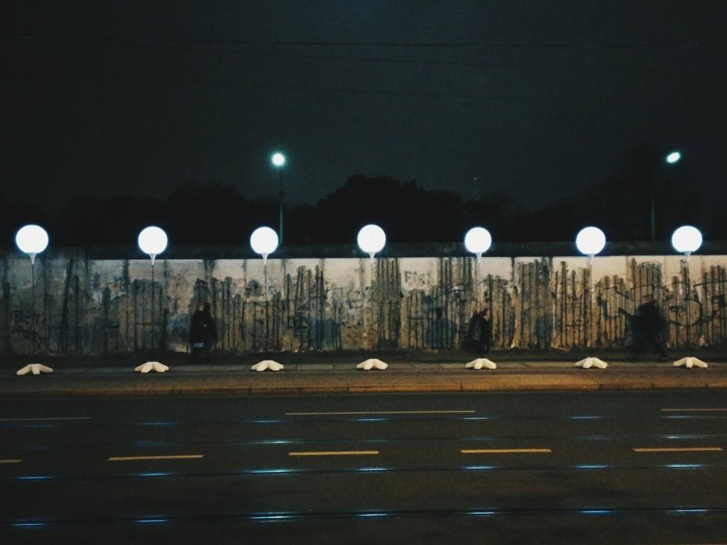 Berlin Lichtgrenze 2014 mauer