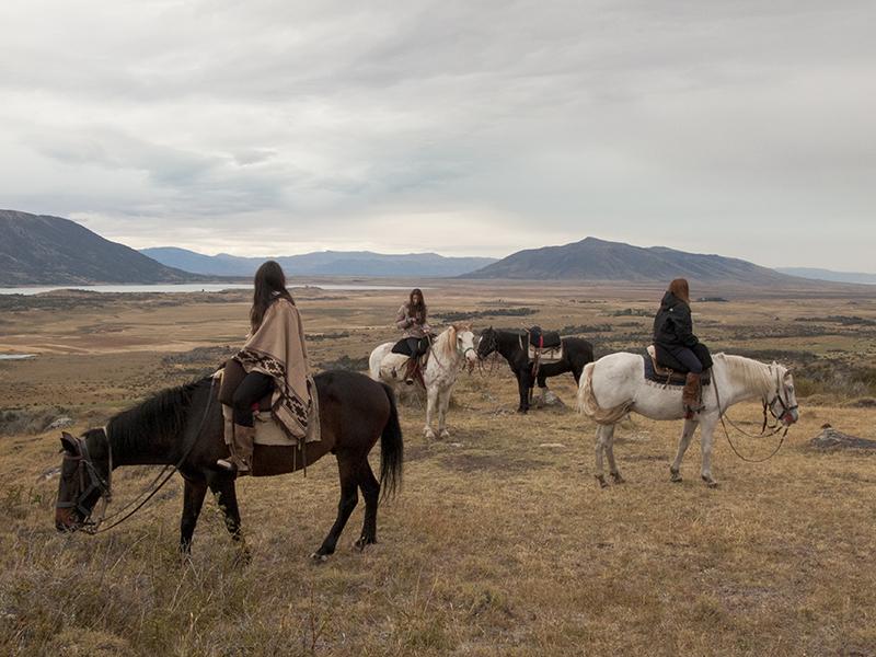 Argentina patagonia Calafate Lago roca horseride viewpoint