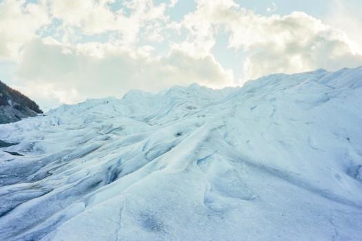 Argentina patagonia Calafate perito Moreno Trekking base