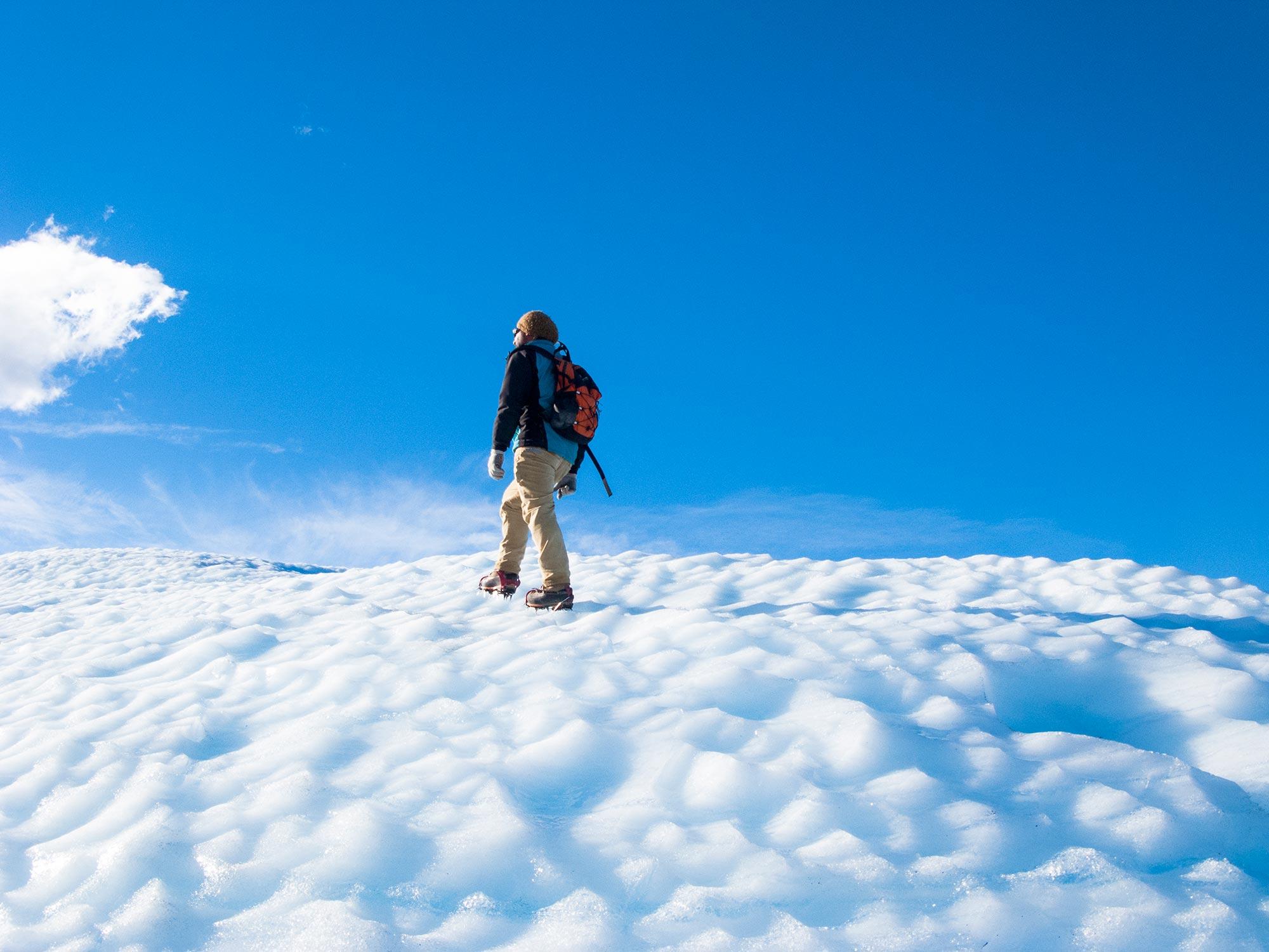 Argentina patagonia Calafate Perito Moreno trekking ice guide