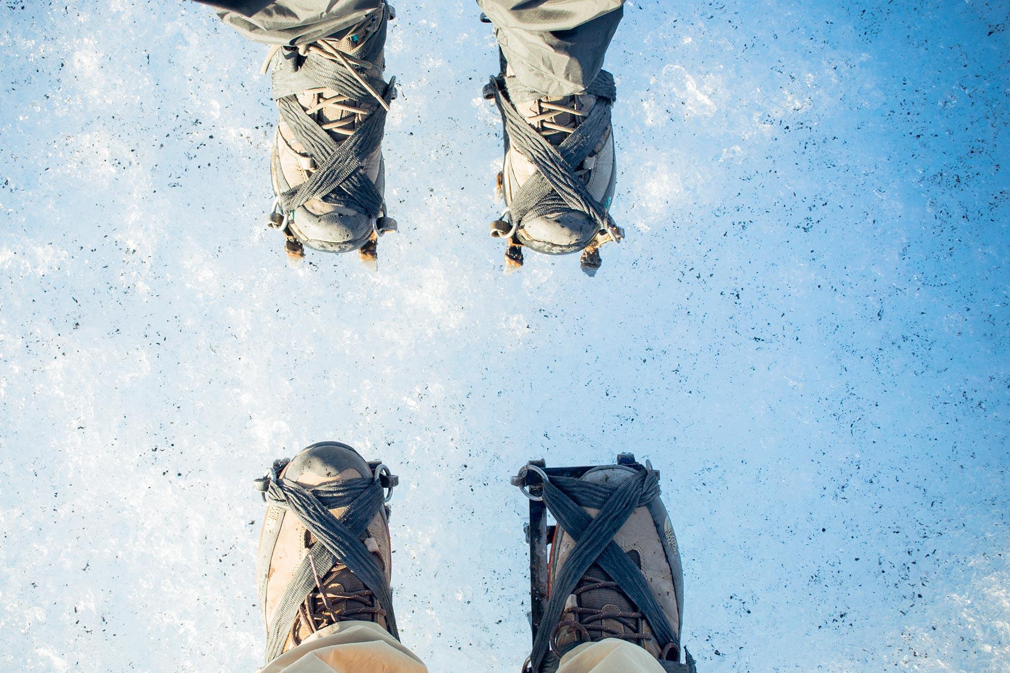 Argentina patagonia Calafate Perito Moreno trekking ice rampons