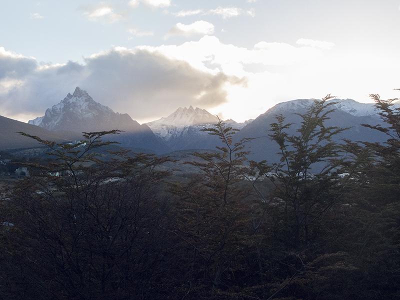 Argentina ushuaia sunrise