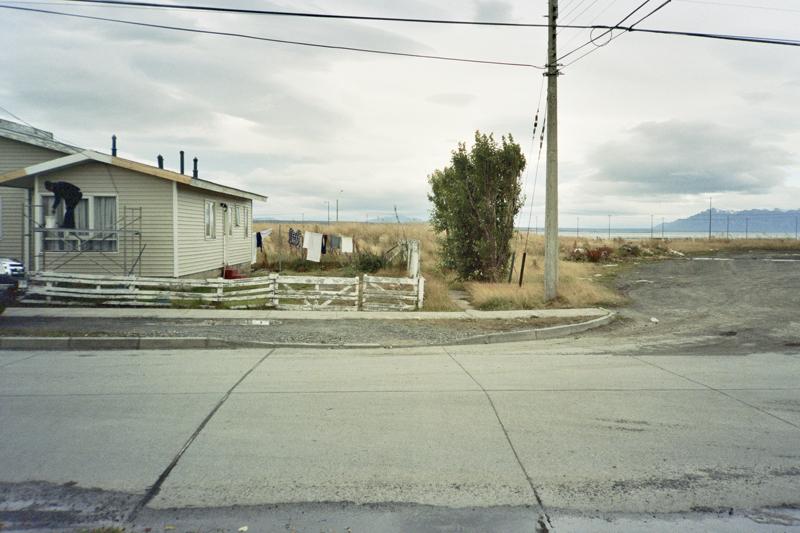 Chile Patagonia Puerto natales street