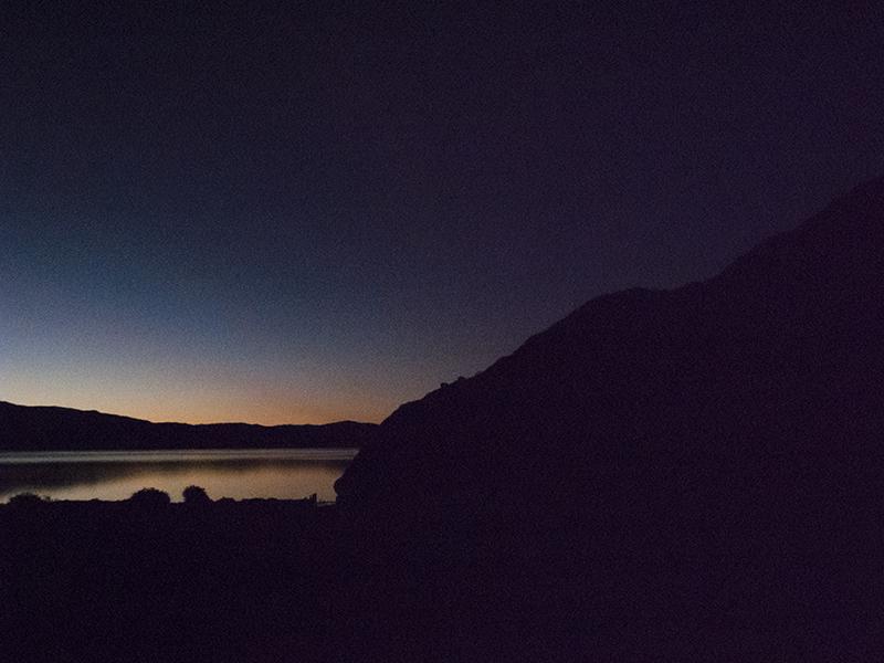 Chile Patagonia Torres del Paine grande sunrise
