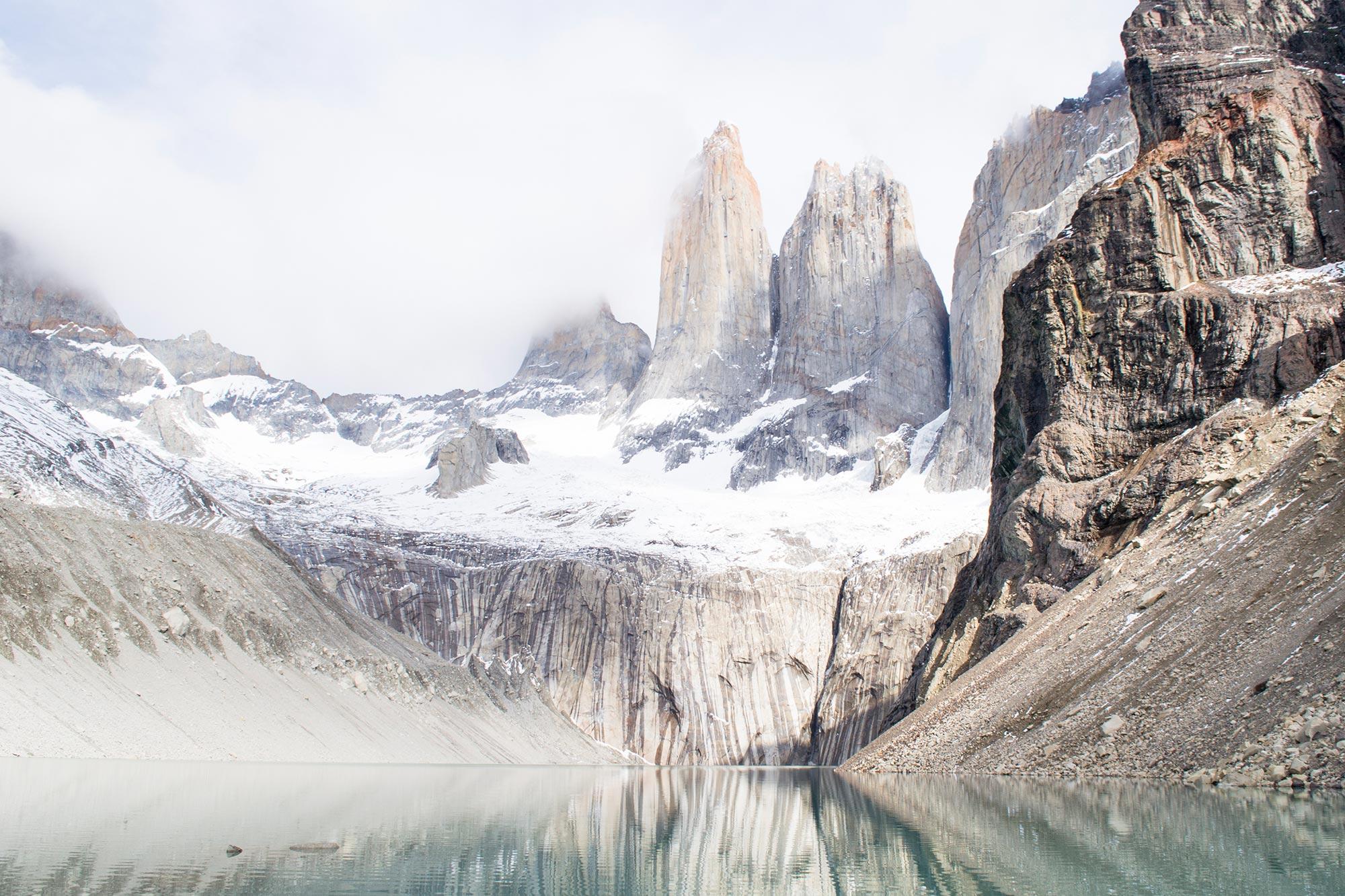 Chile Patagonia Torres del Paine las torres