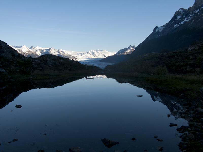 Chile Patagonia Torres del Paine mirador grey