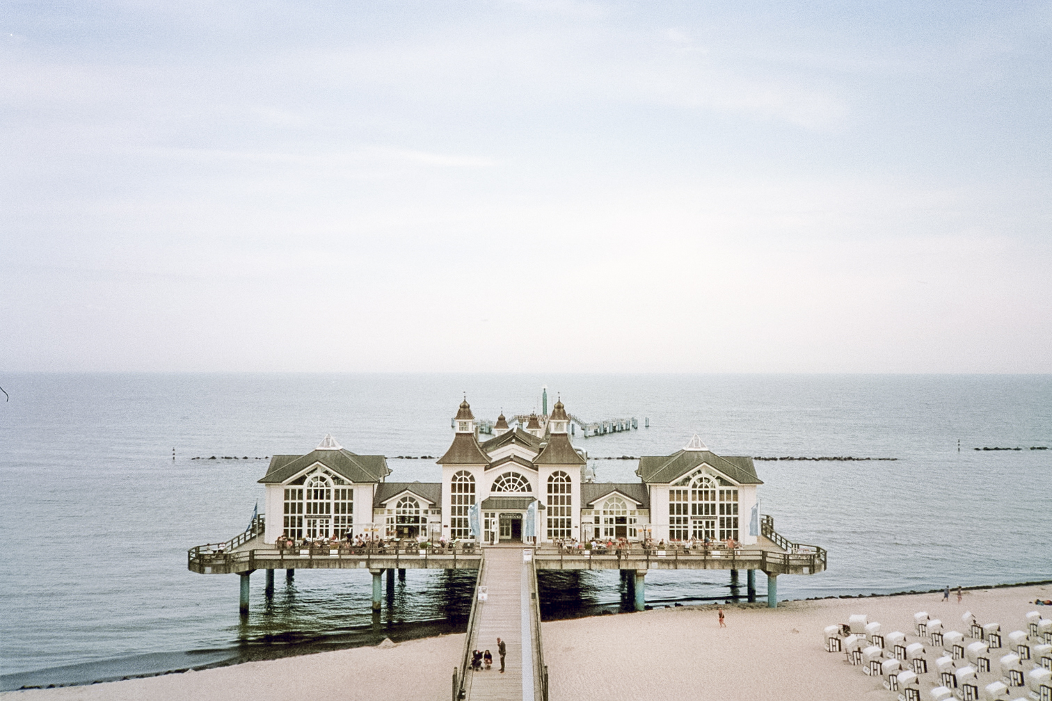 Seebrücke, the most loved postcard of Rügen