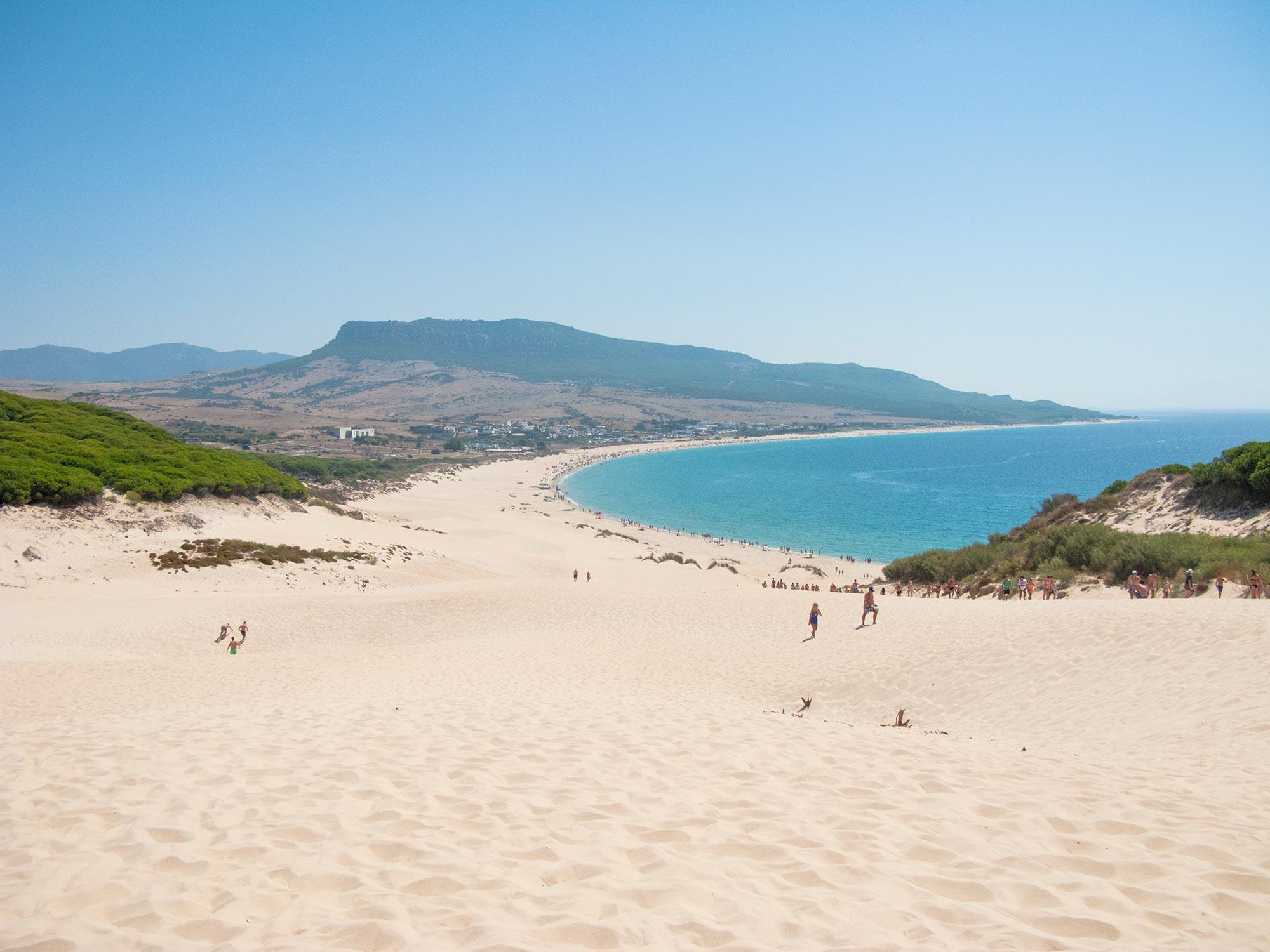 Bolonia beach dune