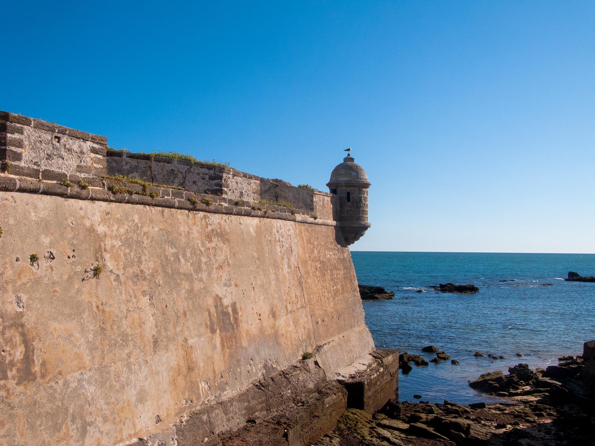 Cadiz Castillo de San Sebastián