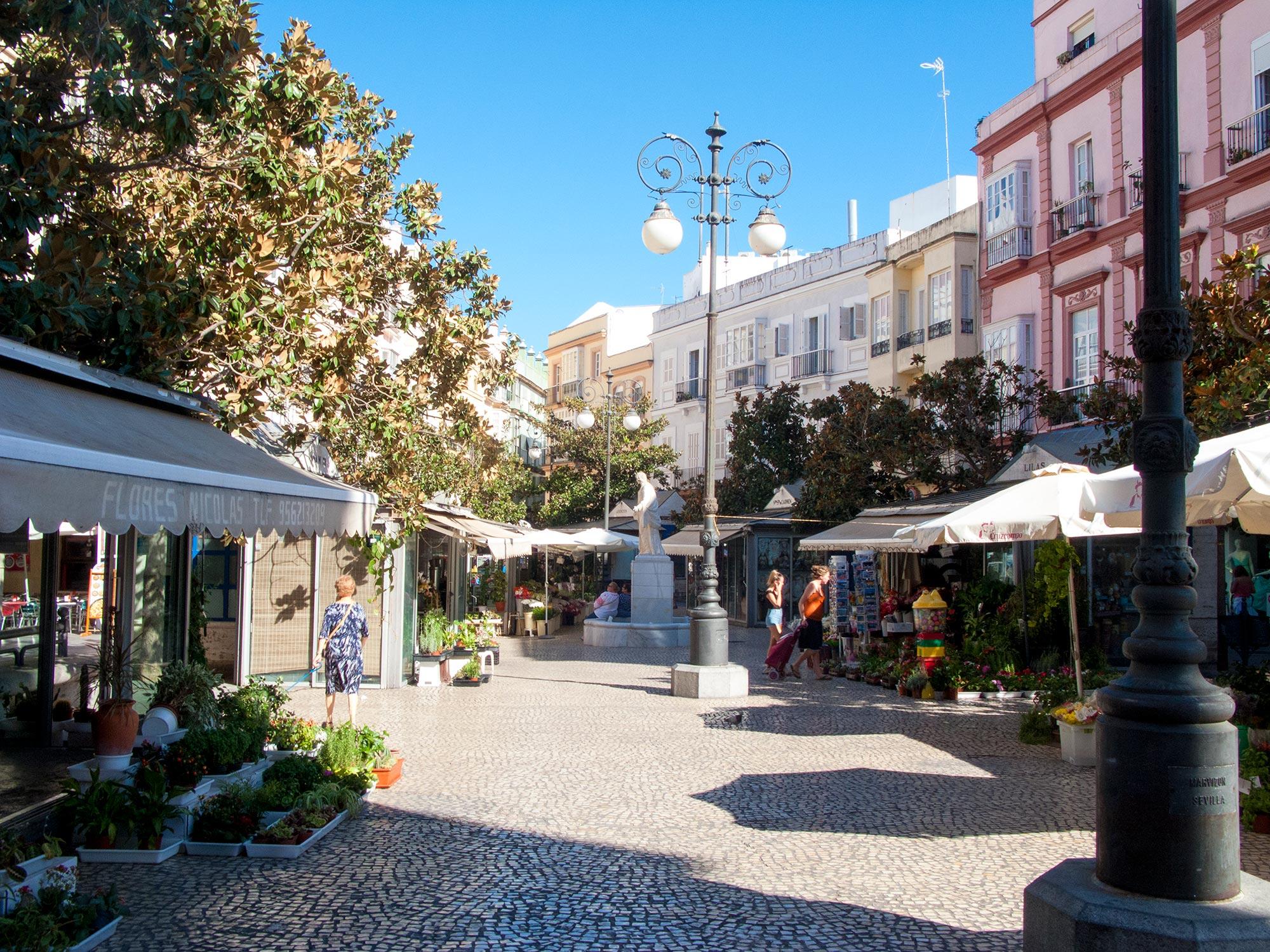 Cadiz Plaza de los Flores