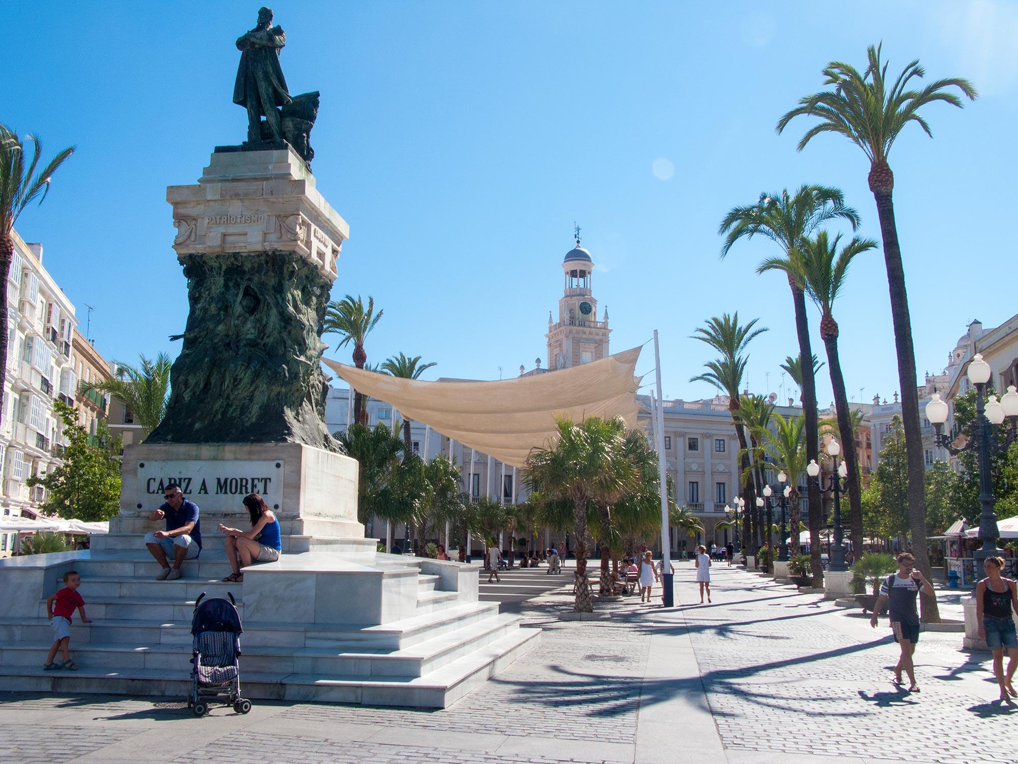 Cadiz Plaza de San Juan de Dios