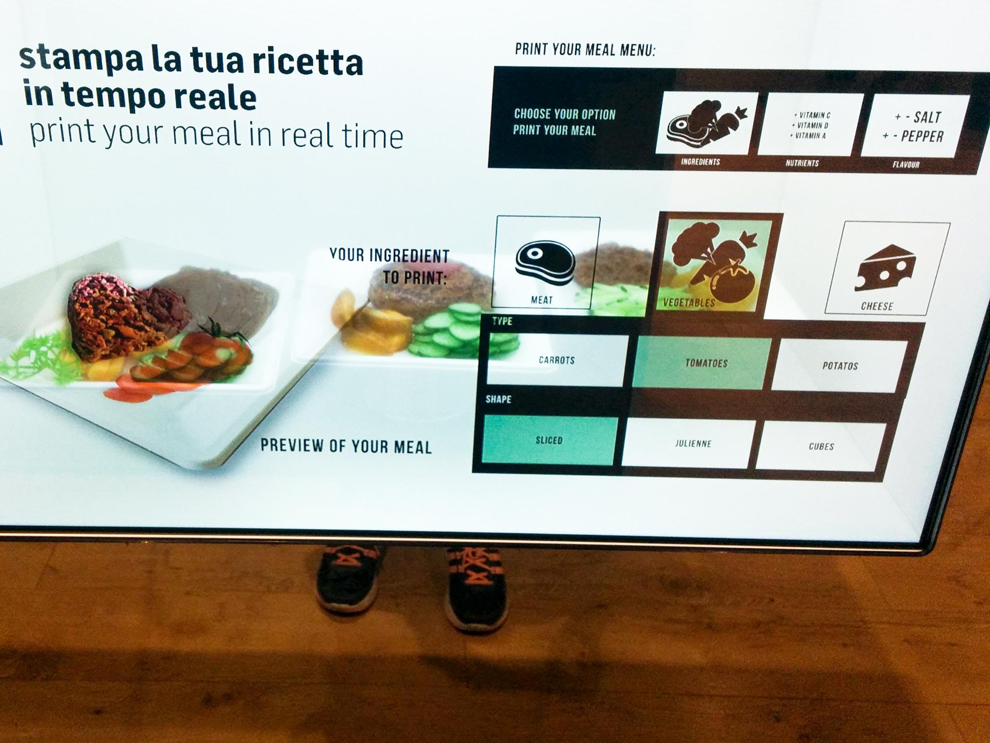 Milan Expo Coop future food