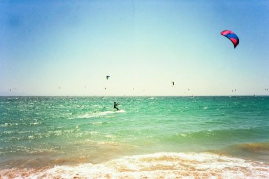 valdevaqueros beach kitesurf