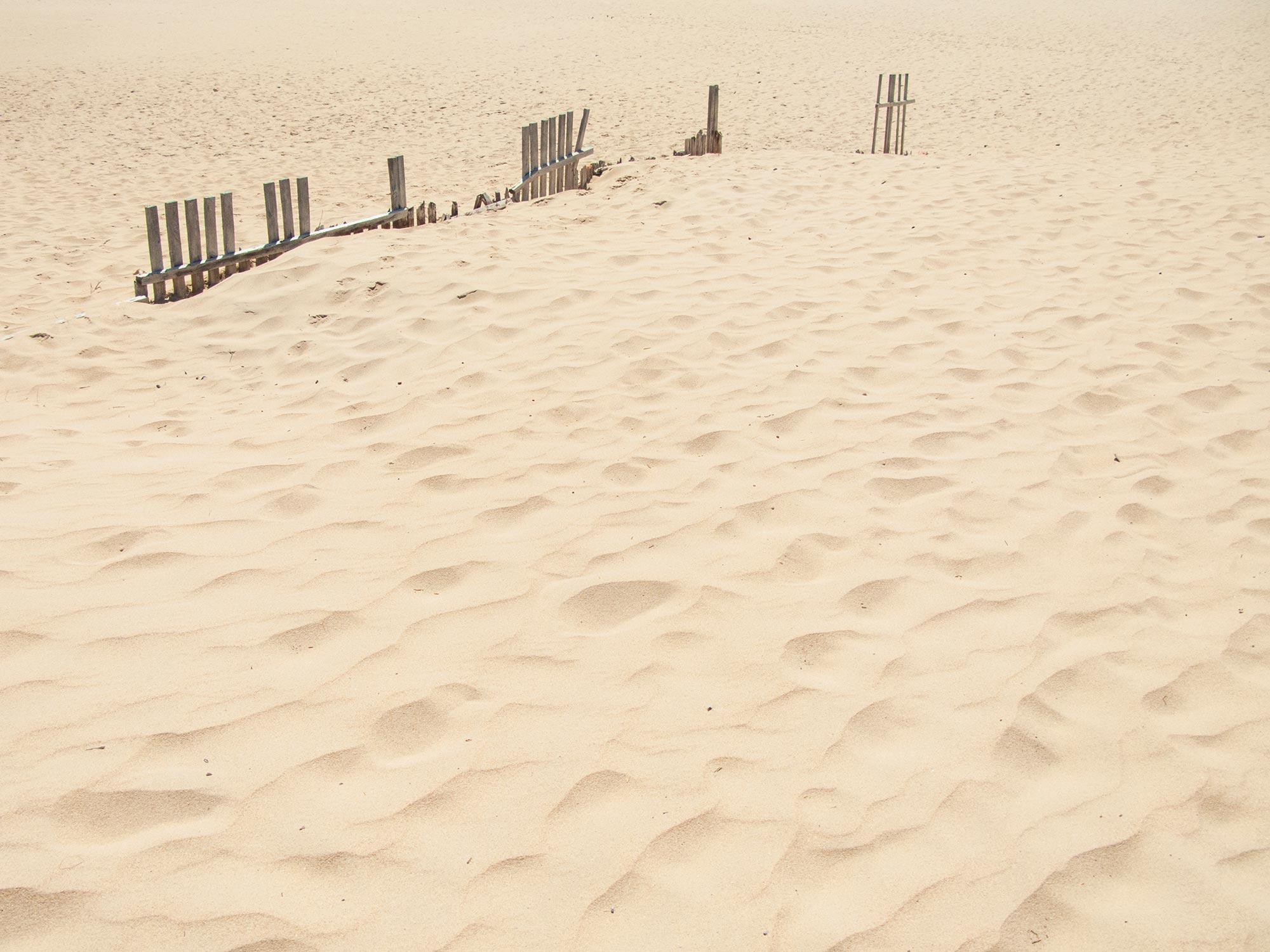 Valdevaqueros beach sand