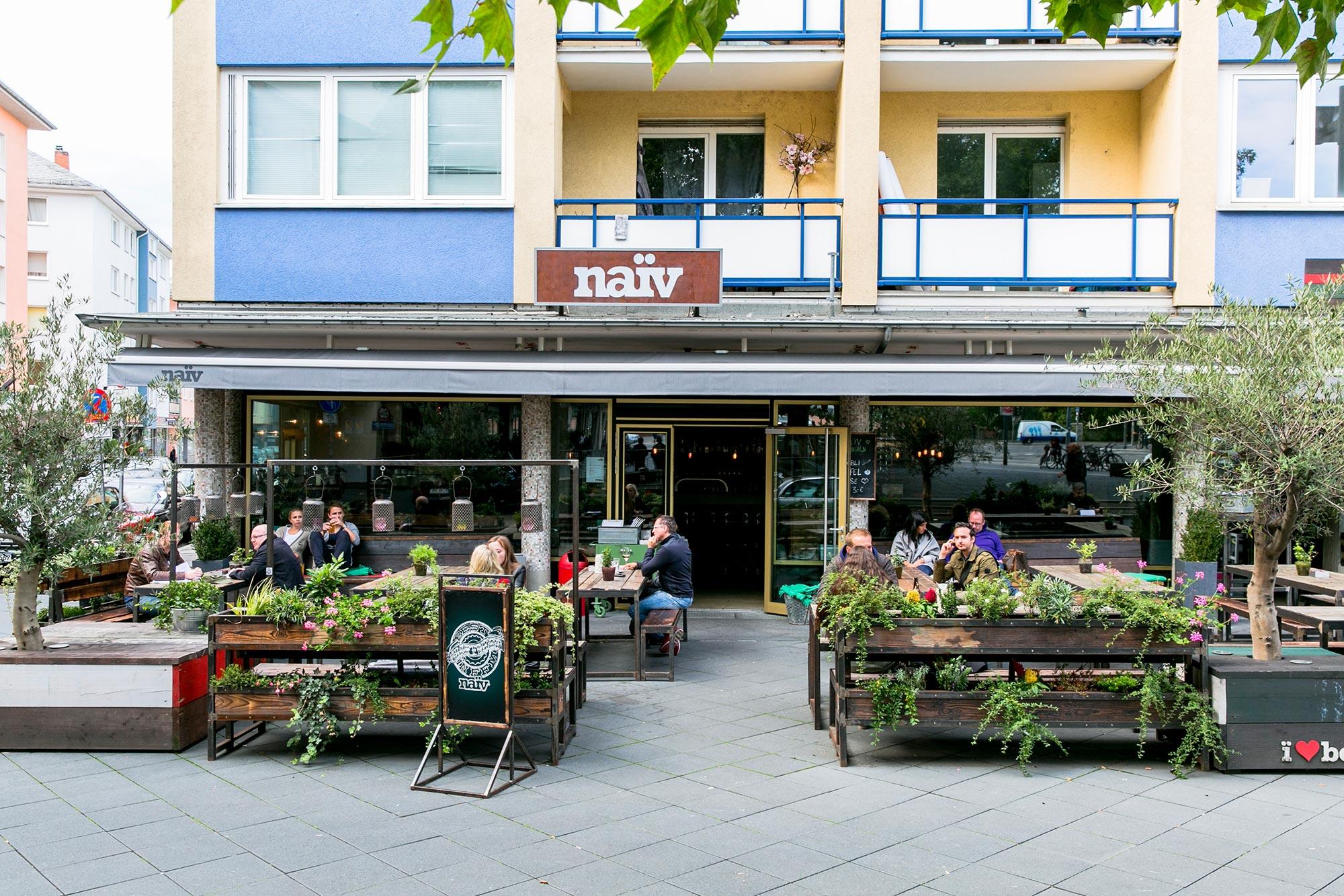 naiv restaurant cafe frankfurt