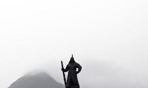 Korea Seoul Yi Sun-Shin statue Gyeongbokgung