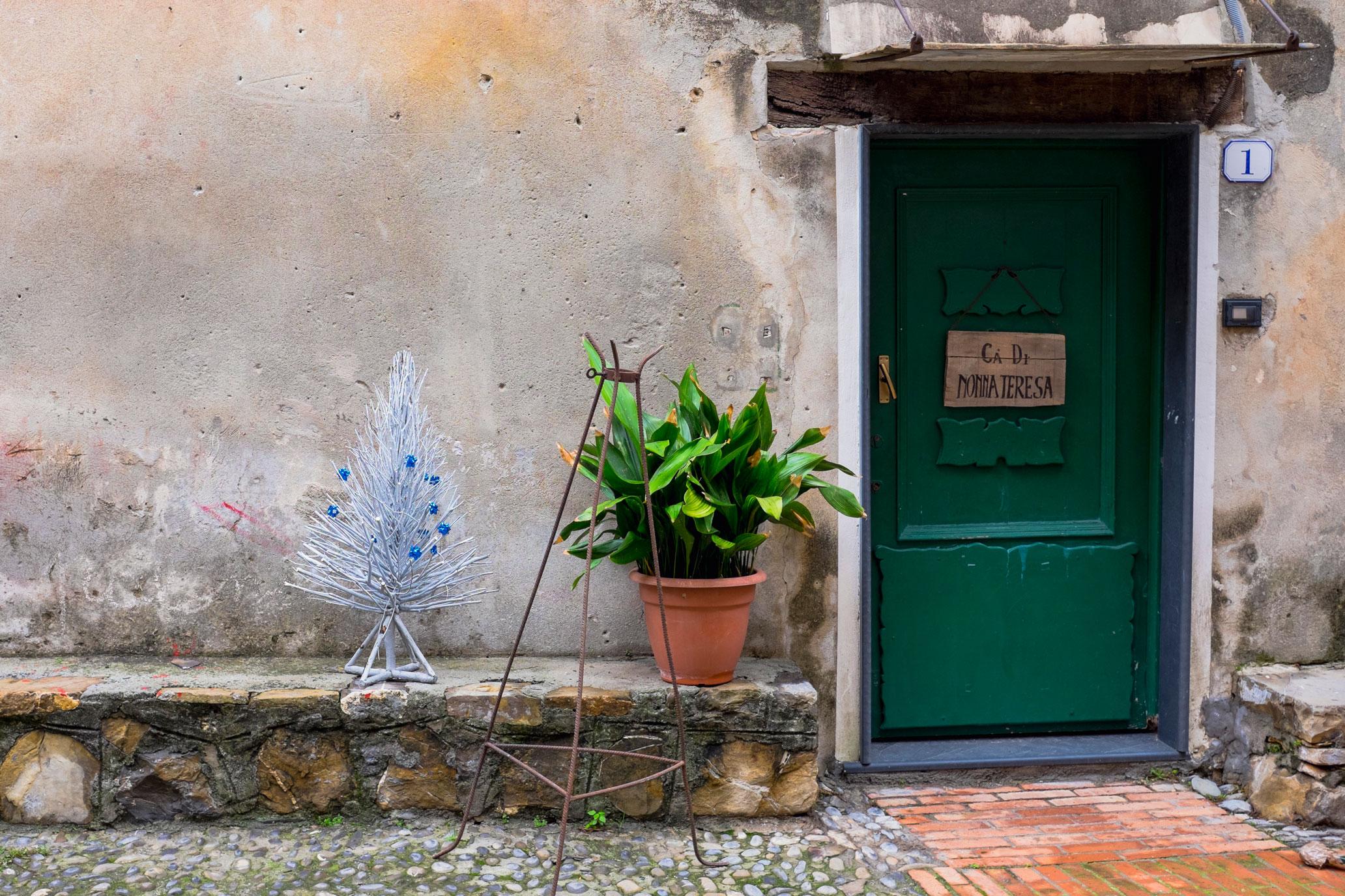 Italy Liguria Cervo dor christmas
