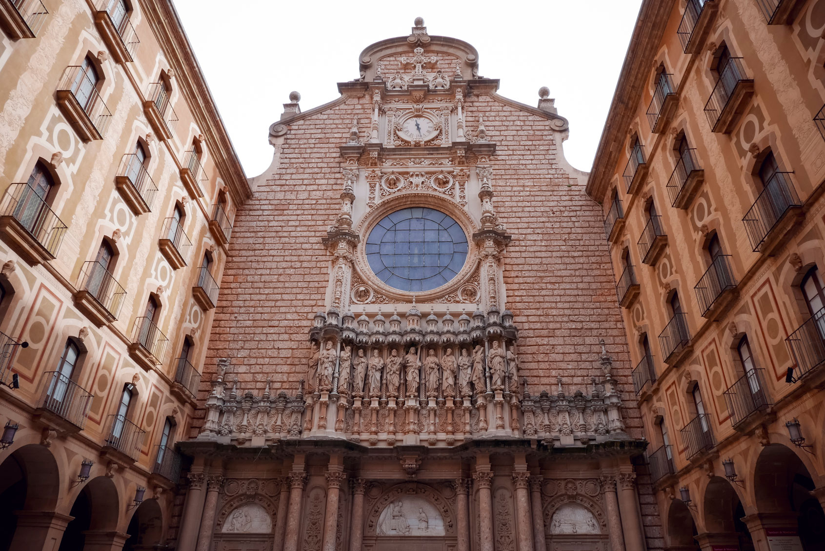 Spain Barcelona Montserrat Monastery Santa Maria17