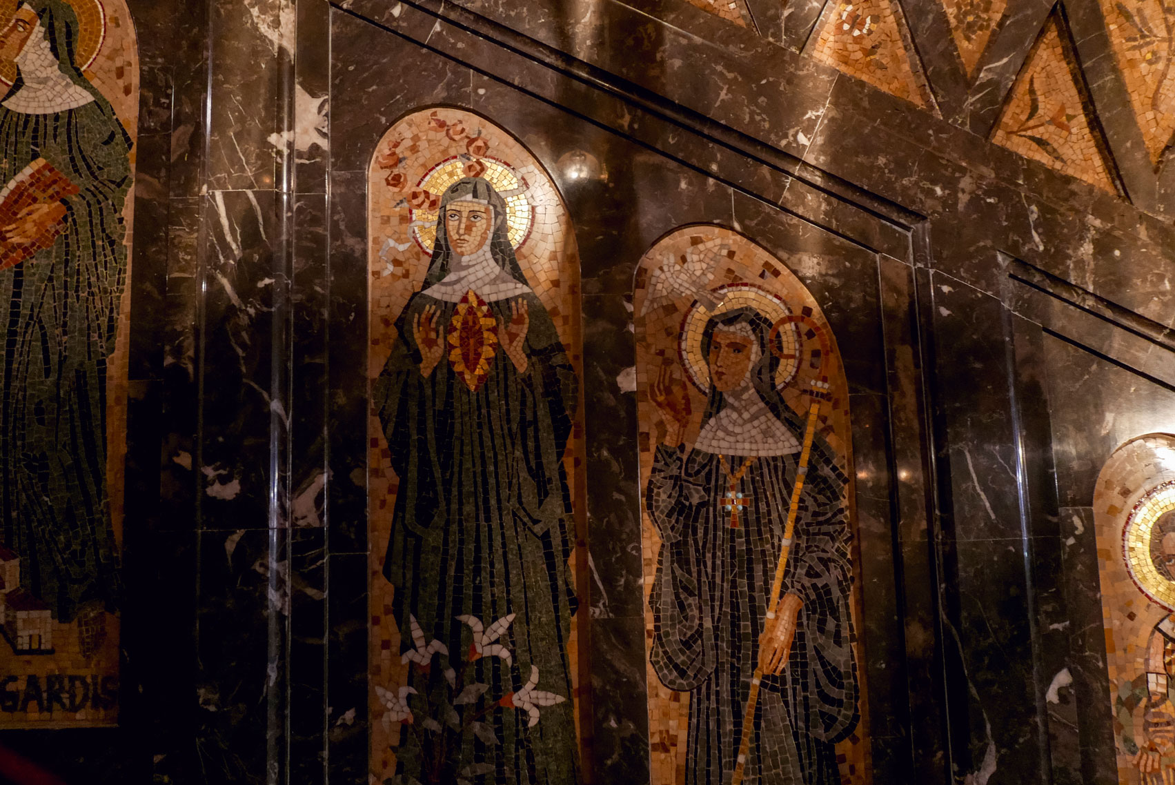 Spain Barcelona Montserrat Monastery Santa Maria4