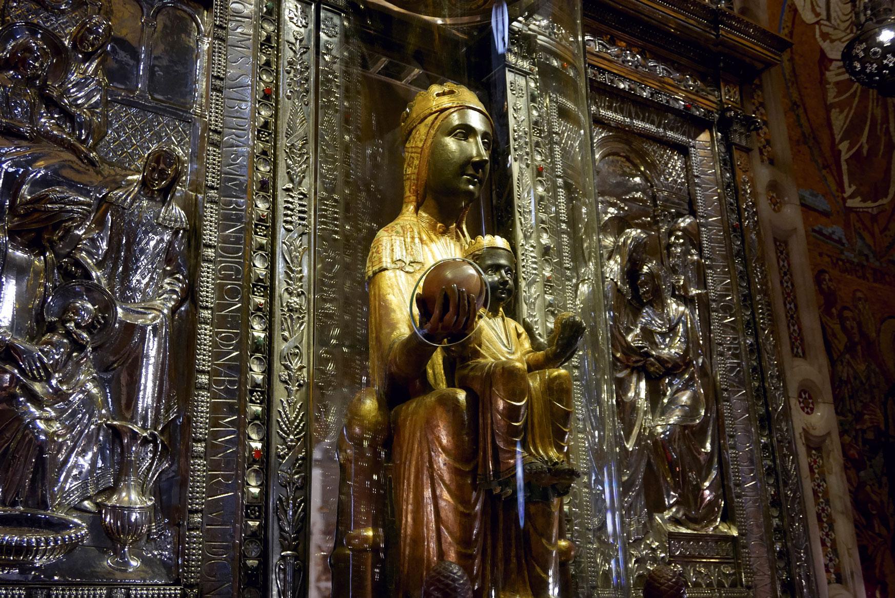 Spain Barcelona Montserrat Monastery Santa Maria9