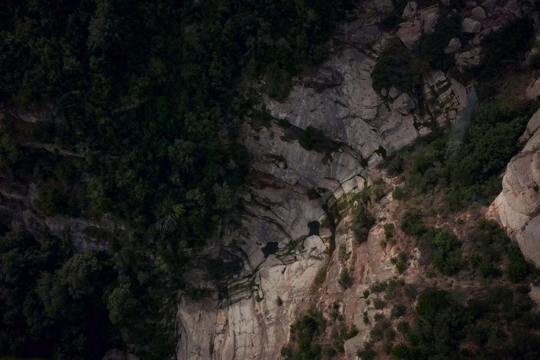 Spain Barcelona Montserrat Monastery cableway rocks