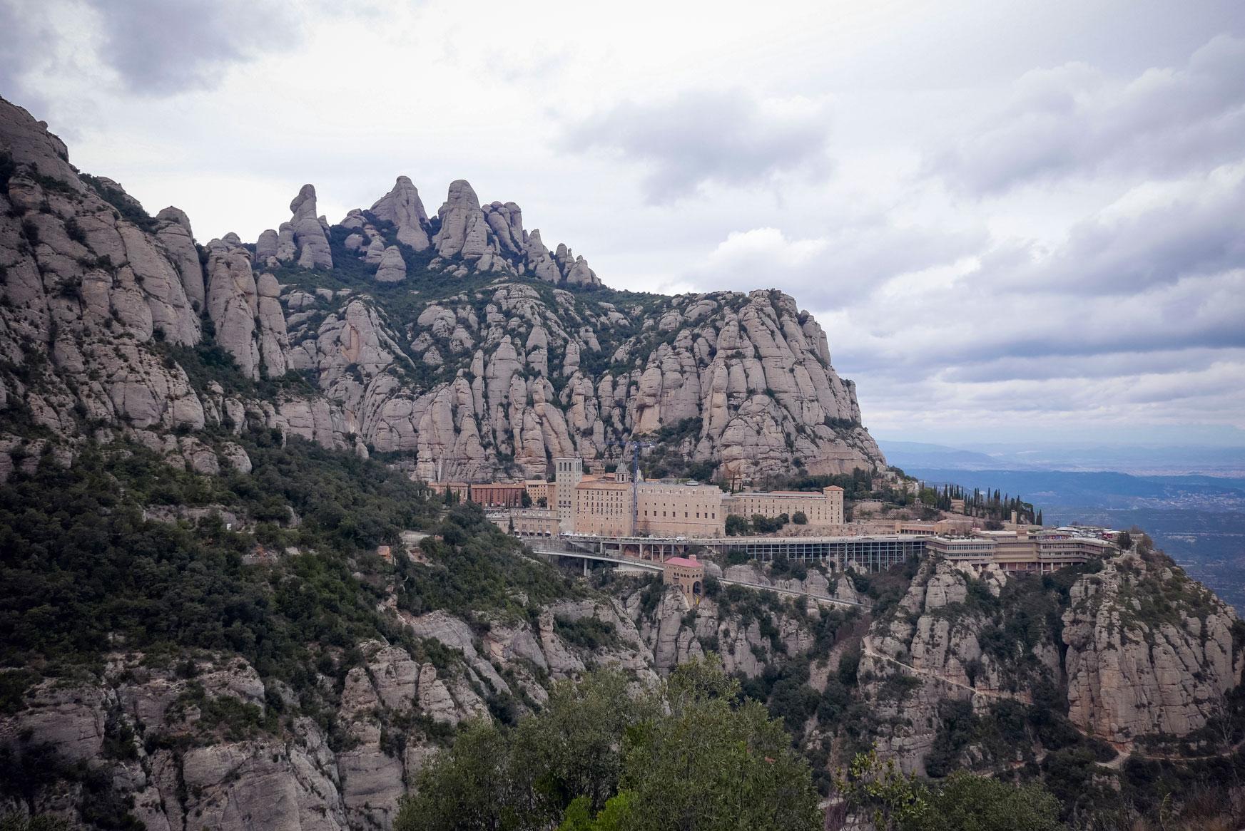 Spain Barcelona Montserrat Monastery sant miguel cross trekking13